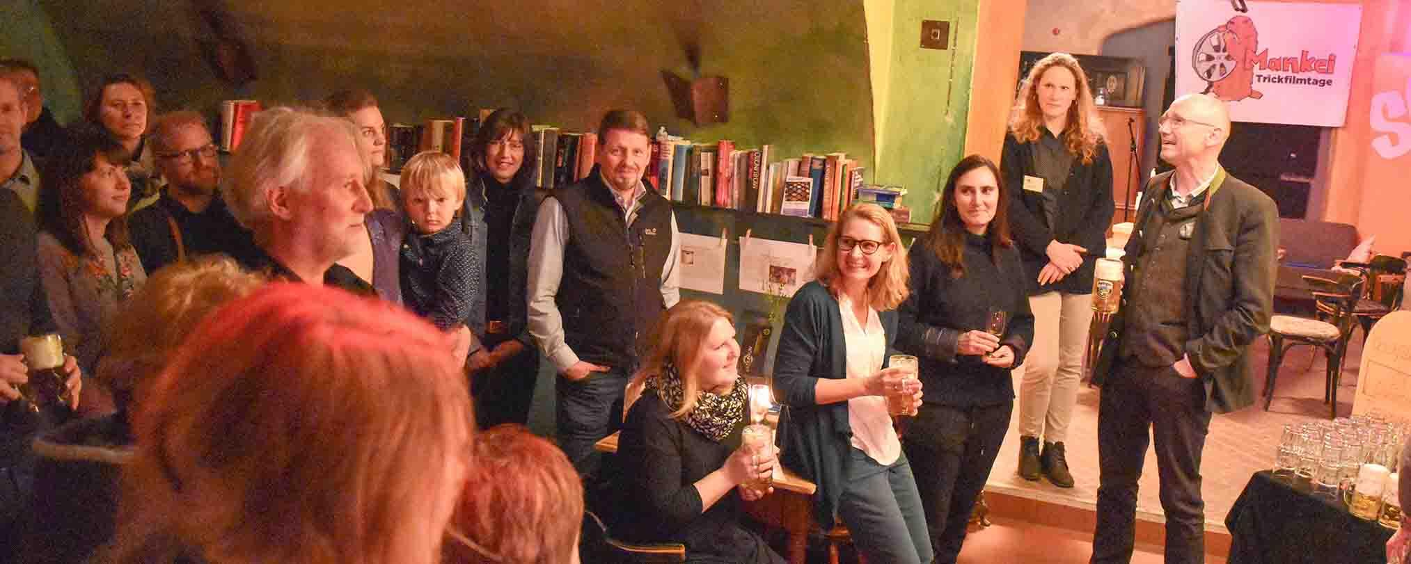 Das Neujahrstreffen von Q3 fand im Café Festung in Traunstein statt.