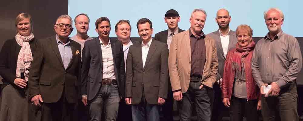 Gruppenfoto Eröffnung Chiemgauer Medienwochen